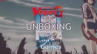 Cardfight!! Vanguard G-TD11 Divine Knight of Heavenly Decree Trial Deck Unboxing