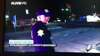 Sindarius Thornwell on Live PD