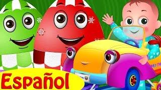 Huevos Sorpresas de Juguetes – Vehículos de BEBÉ para Niños   Carriola, Andadera & Más   ChuChu TV thumbnail