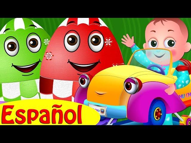 Huevos Sorpresas de Juguetes – Vehículos de BEBÉ para Niños | Carriola, Andadera & Más | ChuChu TV