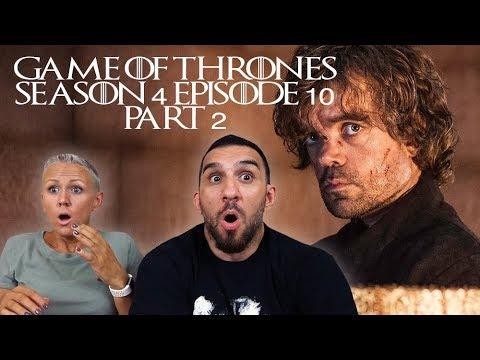 Game Of Thrones Season 4 Episode 10 'The Children' REACTION!! (PART 2)