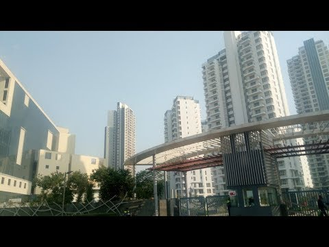 Gurugram gurgaon skyline video 2018  Best gurgaon skyscraper video | India