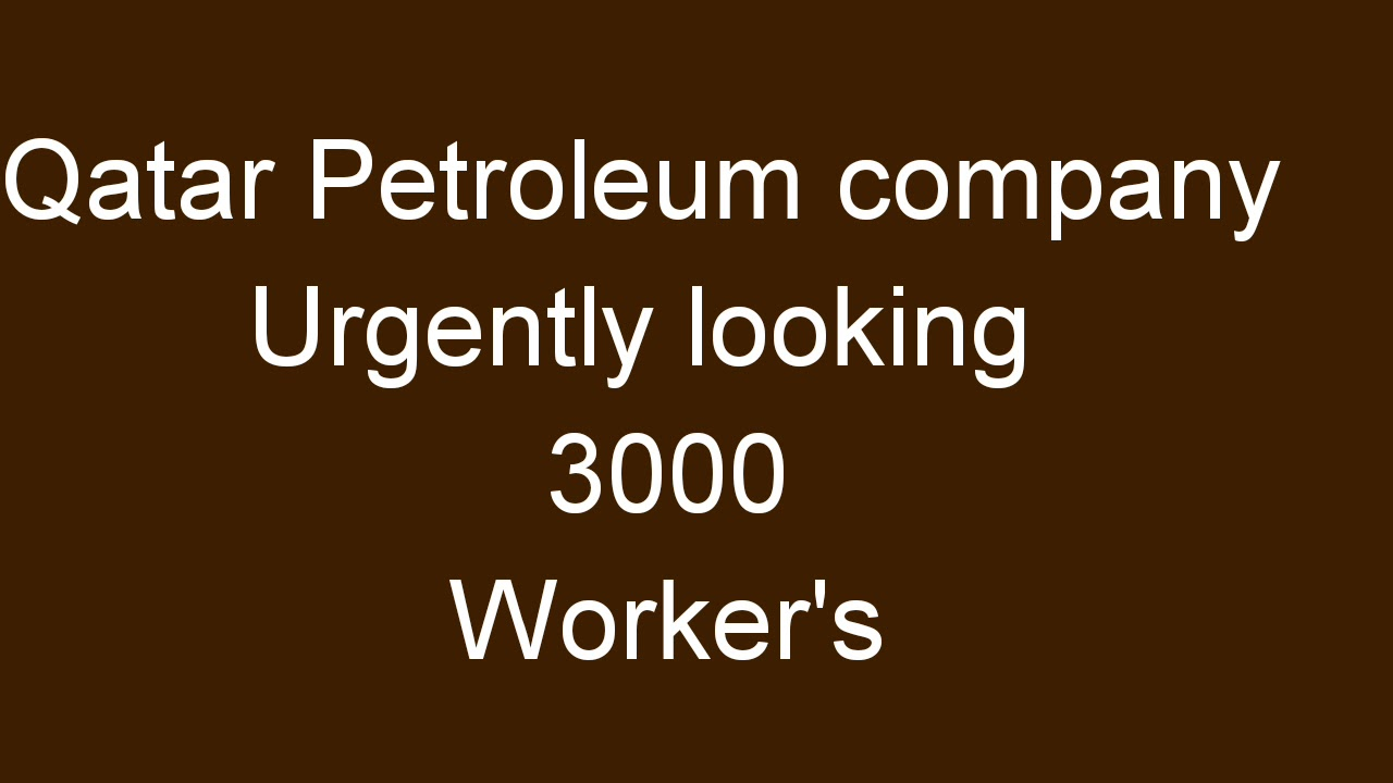 job vacancy in Qatar gulf job vacancies daily jobs