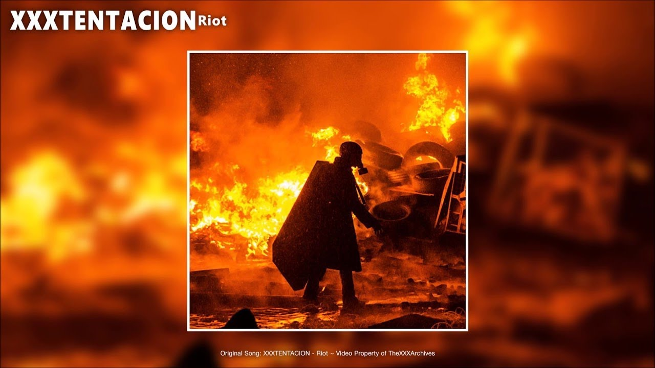 Image result for xxxtentacion riot