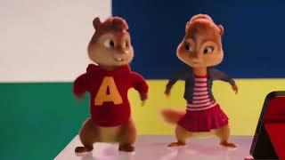 Элвин и Бурундуки-клип на песню Uptown Funk