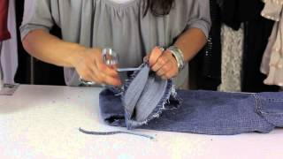 How Do I Fray the Edges of My Jeans? : Style Savvy