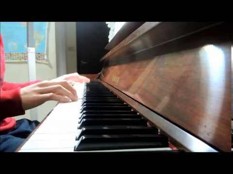Owl City-Kiss Me Babe It's Christmas Time (Fan Piano Cover)