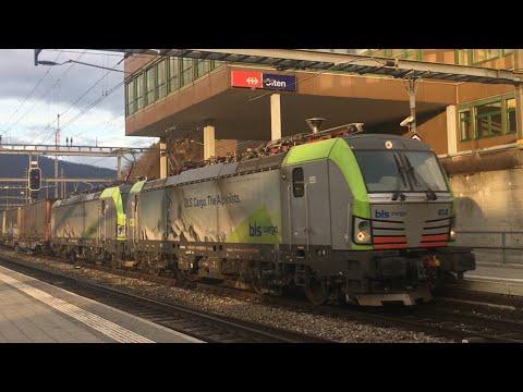 [FR/DE] Trafic ferroviaire/Bahnverkehr Olten - 04.02.2018 - Transports Publics Suisses