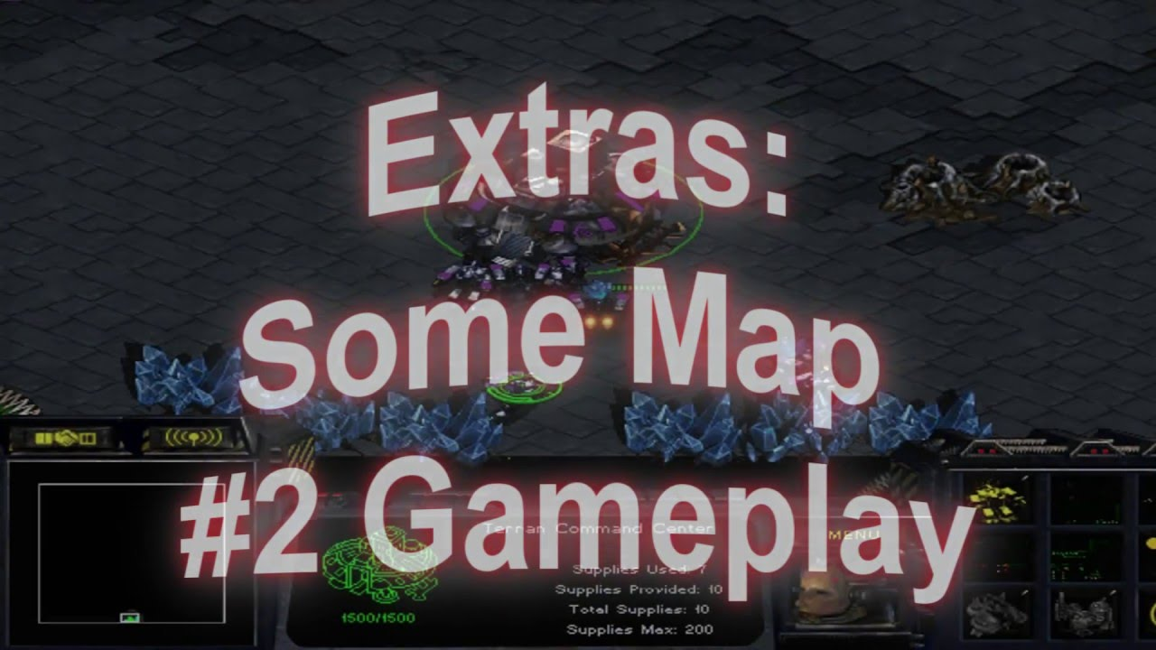 STARCRAFT MAP VIDEO W/TUT AND RANDOM SPAWN TRIGGERS IN MAP DOWNLOAD (HD)