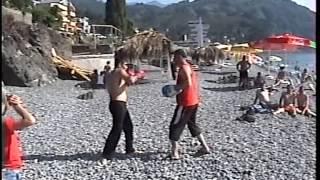 Геворг Саргсян и Геворг Дургарян работают на лапах