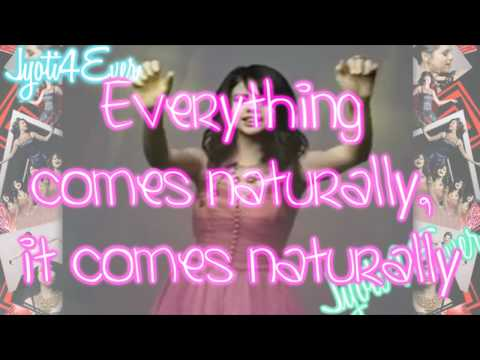 Naturally - Selena Gomez and The Scene - Kiss and Tell - With Lyrics