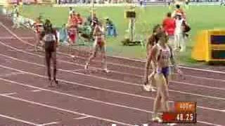 2007 championships 4x400m women