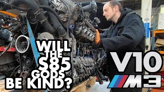 Removing the V10 from my BMW E46 M3 - Restoration project Pt 2 thumbnail