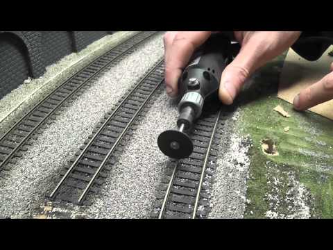 Building a Model Railway - Part 3 - Track Laying