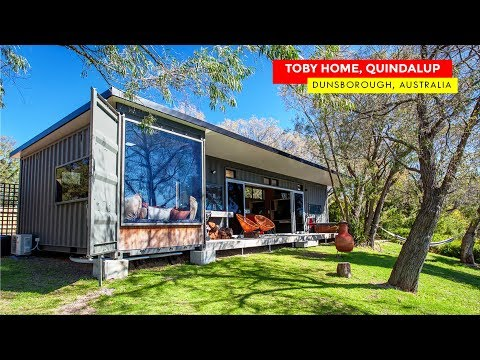 Toby Home Shipping Container Guesthouse in Quindalup, Australia