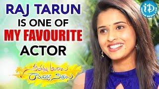 Raj Tarun Is One Of My Favourite Actor - Actress Arthana | Seethamma Andalu Ramayya Sitralu