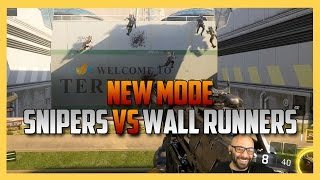 New Mode: Wall Runners vs Snipers - Black Ops 3