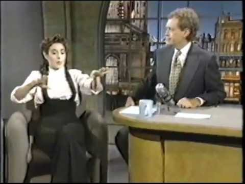 Sean Young on The Late Show (1993)