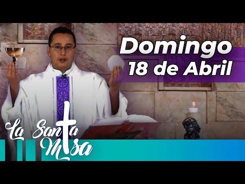 MISA DE HOY,  Domingo 18 De Abril De 2021 - Cosmovision