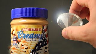 How to Make Diamonds at home using Peanut Butter