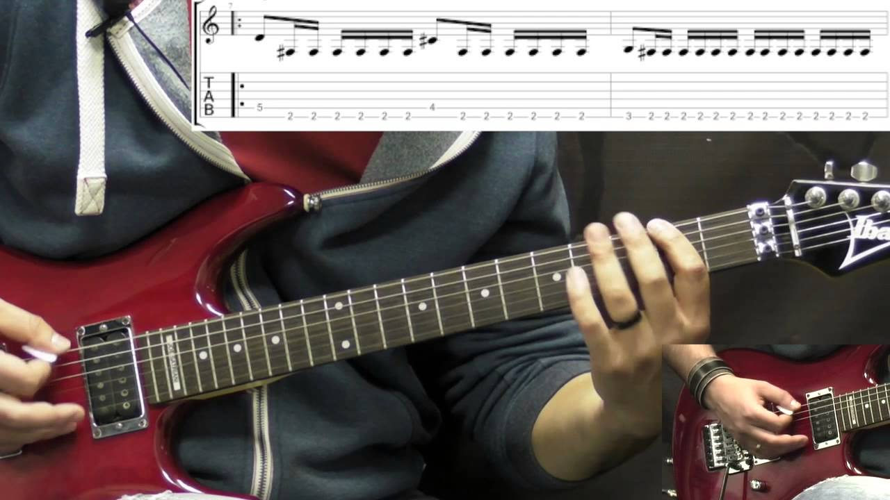 Death - Symbolic - Metal Guitar Lesson Part 2 (w/Tabs) - YouTube