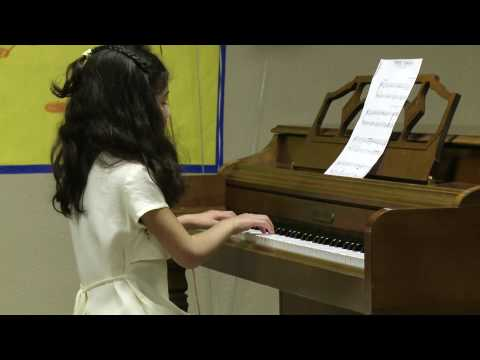 Stephanie Surprise Symphony 2010 Piano Recital.mp4