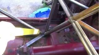 Drivers Compartment Lower X Brace - Building A Pure Stock Race Car