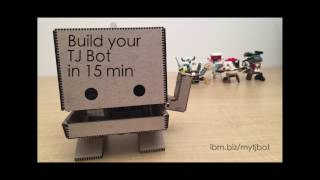 Calling all Makers: Meet TJ Bot!