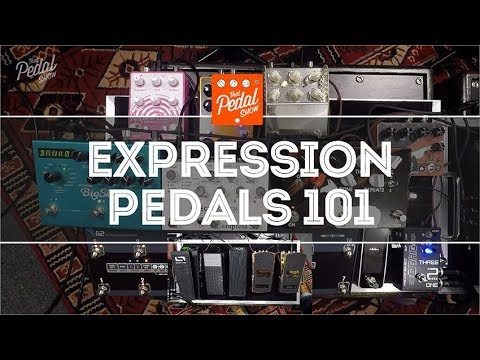 That Pedal Show – What Is An Expression Pedal & How Do I Use One?