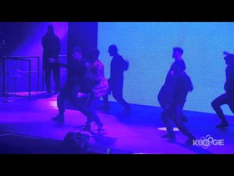 Chris Brown Dances To K CAMP's LIL BIT(BTS Tour Atlanta)