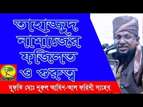 মুফতি মোঃ নুরুল আমিন-আল ফরিদী সাহেব ||  new bangla waz 2020 || RTDS Tesh