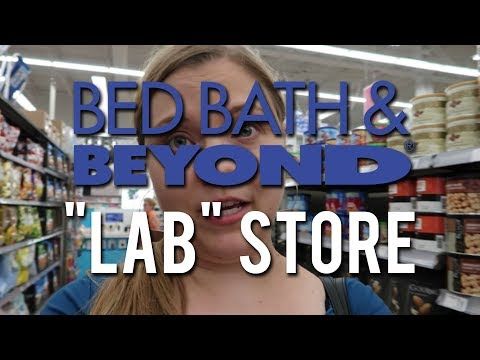 BED BATH & BEYOND LAB STORE | Experimental Store Layout!
