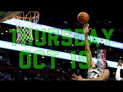NBA Daily Show: Oct. 19 - The Starters