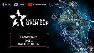 Warface Open Cup Season XII LAN Finals - Day 1