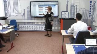 Samsung Smart School - интерактивный урок физики.