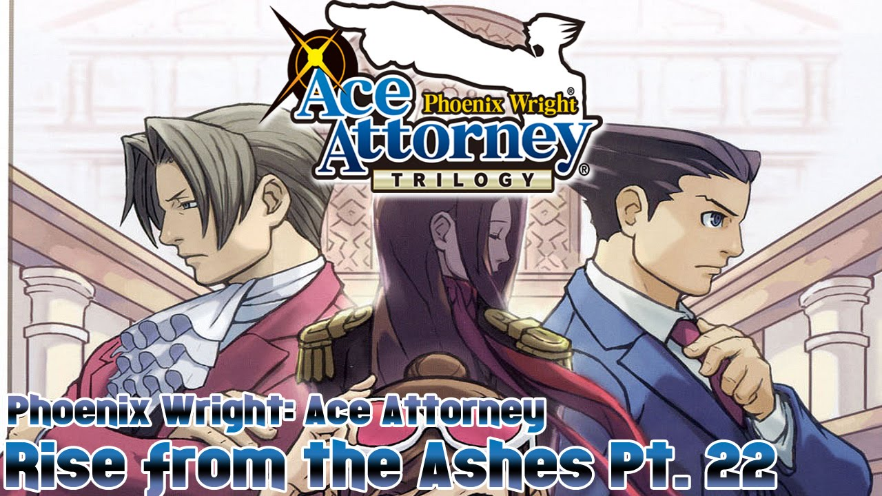 Phoenix Wright Ace Attorney Walkthrough Case 5 Rise From ...