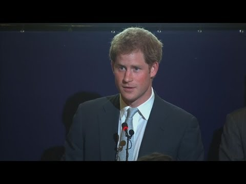 Prince Harry 'almost moved to tears' by Brazilian children