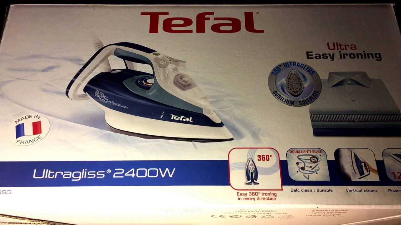 tefal fv4680 dampfb geleisen ultragliss t rkisblau unboxing und anleitung youtube. Black Bedroom Furniture Sets. Home Design Ideas