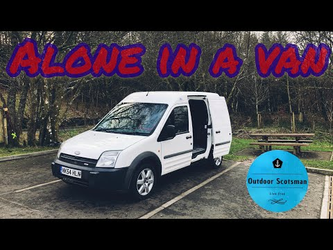 Alone In A Van