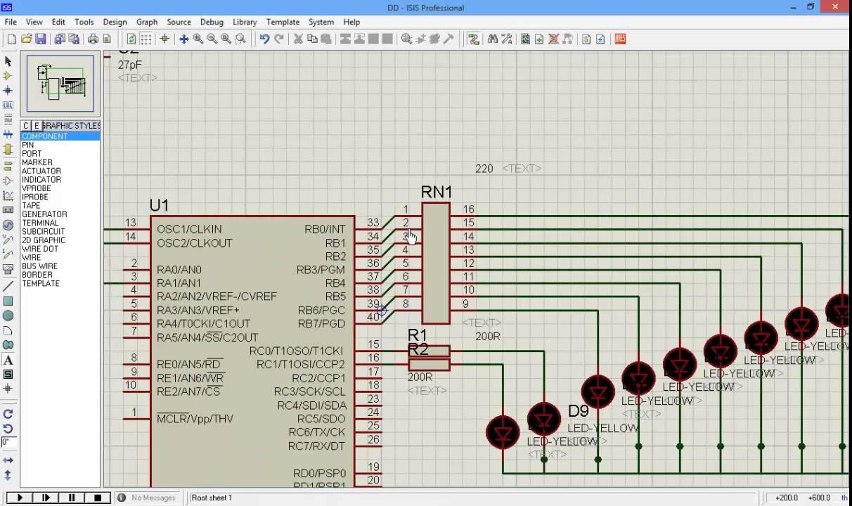 convertisseur analogique num rique l 39 aide de pic16f877 youtube. Black Bedroom Furniture Sets. Home Design Ideas