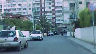 Jordan Misja to Don Bosko at night by car  Albania Tirana HD 2014