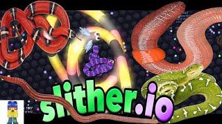 SLITHER.io (OPHIDIOPHOBIA SCOLECIPHOBIA NIGHTMARE)