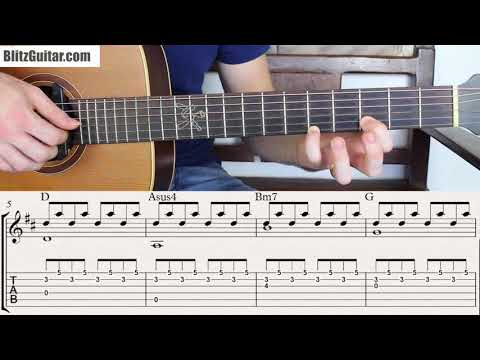 Probably the Most Simple Fingerstyle Chords For Beginners