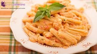 Pasta with Sicilian pesto sauce - summer recipe