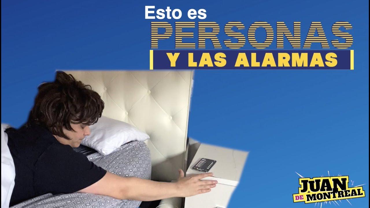 PERSONAS Y LAS ALARMAS!!!