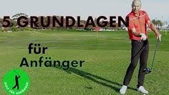 5 Golfschwung Grundlagen für jeden Anfänger
