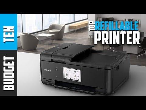 Best Refillable Printers 2019 - Budget Ten Ink Tank Printer Reviews