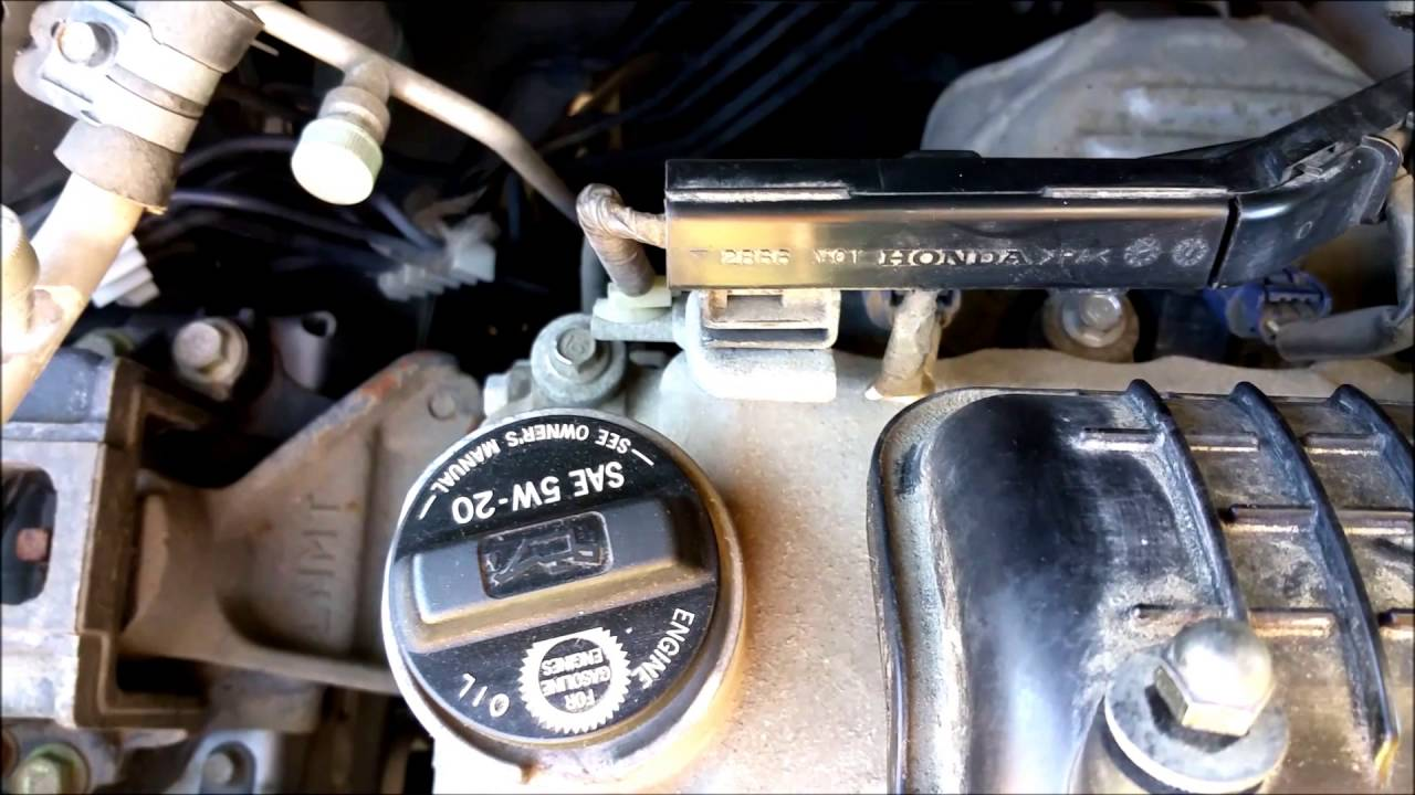 honda fit valve adjustment youtube