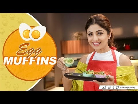 Egg Muffins | Shilpa Shetty Kundra | Healthy Recipes | The Art of Loving Food