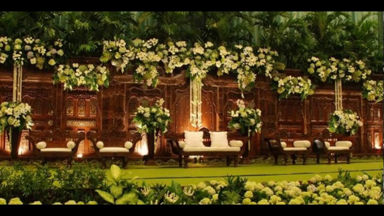 Desain Pernikahan Dekorasi Pelaminan Adat Jawa Modern
